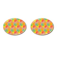 Birthday Balloons Cufflinks (oval)