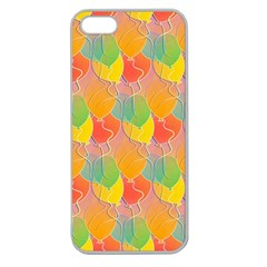 Birthday Balloons Apple Seamless Iphone 5 Case (clear)