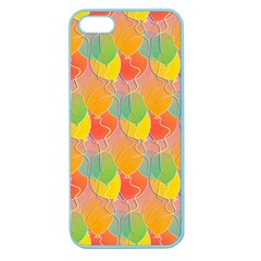 Birthday Balloons Apple Seamless Iphone 5 Case (color)