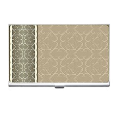 Abstract Background With Floral Orn Illustration Background With Swirls Business Card Holders