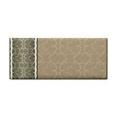 Abstract Background With Floral Orn Illustration Background With Swirls Cosmetic Storage Cases