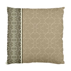 Abstract Background With Floral Orn Illustration Background With Swirls Standard Cushion Case (One Side)