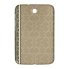 Abstract Background With Floral Orn Illustration Background With Swirls Samsung Galaxy Note 8 0 N5100 Hardshell Case