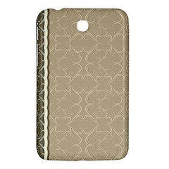 Abstract Background With Floral Orn Illustration Background With Swirls Samsung Galaxy Tab 3 (7 ) P3200 Hardshell Case