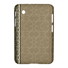 Abstract Background With Floral Orn Illustration Background With Swirls Samsung Galaxy Tab 2 (7 ) P3100 Hardshell Case