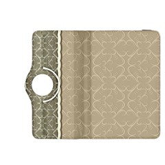Abstract Background With Floral Orn Illustration Background With Swirls Kindle Fire Hdx 8 9  Flip 360 Case