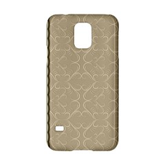 Abstract Background With Floral Orn Illustration Background With Swirls Samsung Galaxy S5 Hardshell Case