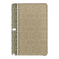 Abstract Background With Floral Orn Illustration Background With Swirls Samsung Galaxy Tab Pro 12.2 Hardshell Case