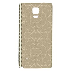 Abstract Background With Floral Orn Illustration Background With Swirls Galaxy Note 4 Back Case