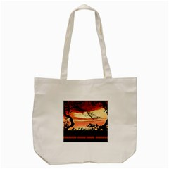 Autumn Song Autumn Spreading Its Wings All Around Tote Bag (Cream)