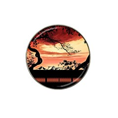 Autumn Song Autumn Spreading Its Wings All Around Hat Clip Ball Marker