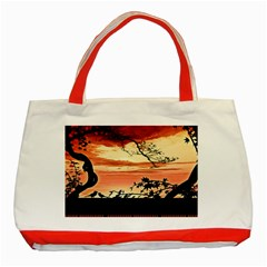 Autumn Song Autumn Spreading Its Wings All Around Classic Tote Bag (Red)