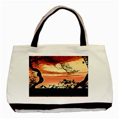 Autumn Song Autumn Spreading Its Wings All Around Basic Tote Bag (Two Sides)