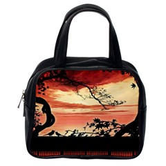Autumn Song Autumn Spreading Its Wings All Around Classic Handbags (One Side)
