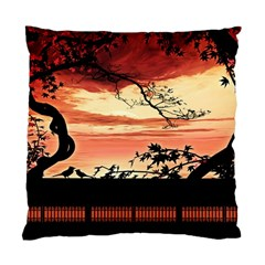 Autumn Song Autumn Spreading Its Wings All Around Standard Cushion Case (One Side)