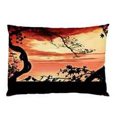 Autumn Song Autumn Spreading Its Wings All Around Pillow Case