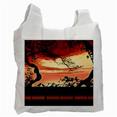 Autumn Song Autumn Spreading Its Wings All Around Recycle Bag (Two Side)