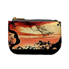 Autumn Song Autumn Spreading Its Wings All Around Mini Coin Purses