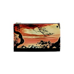 Autumn Song Autumn Spreading Its Wings All Around Cosmetic Bag (Small)