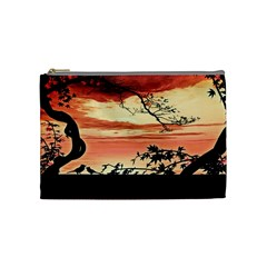 Autumn Song Autumn Spreading Its Wings All Around Cosmetic Bag (Medium)