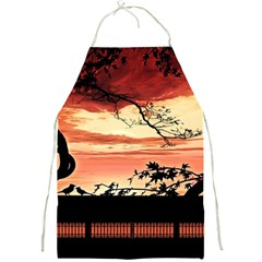 Autumn Song Autumn Spreading Its Wings All Around Full Print Aprons