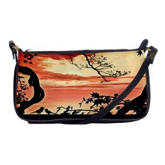 Autumn Song Autumn Spreading Its Wings All Around Shoulder Clutch Bags