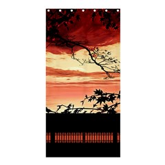 Autumn Song Autumn Spreading Its Wings All Around Shower Curtain 36  X 72  (stall)
