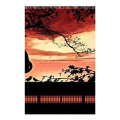 Autumn Song Autumn Spreading Its Wings All Around Shower Curtain 48  x 72  (Small)