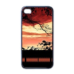 Autumn Song Autumn Spreading Its Wings All Around Apple iPhone 4 Case (Black)