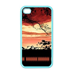 Autumn Song Autumn Spreading Its Wings All Around Apple iPhone 4 Case (Color)