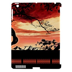 Autumn Song Autumn Spreading Its Wings All Around Apple iPad 3/4 Hardshell Case (Compatible with Smart Cover)