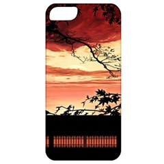 Autumn Song Autumn Spreading Its Wings All Around Apple Iphone 5 Classic Hardshell Case