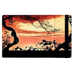 Autumn Song Autumn Spreading Its Wings All Around Apple Ipad 2 Flip Case