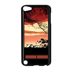 Autumn Song Autumn Spreading Its Wings All Around Apple iPod Touch 5 Case (Black)