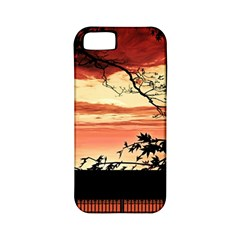 Autumn Song Autumn Spreading Its Wings All Around Apple Iphone 5 Classic Hardshell Case (pc+silicone)