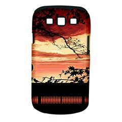Autumn Song Autumn Spreading Its Wings All Around Samsung Galaxy S III Classic Hardshell Case (PC+Silicone)