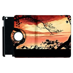 Autumn Song Autumn Spreading Its Wings All Around Apple Ipad 3/4 Flip 360 Case