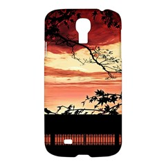 Autumn Song Autumn Spreading Its Wings All Around Samsung Galaxy S4 I9500/I9505 Hardshell Case