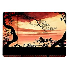 Autumn Song Autumn Spreading Its Wings All Around Samsung Galaxy Tab 10 1  P7500 Flip Case