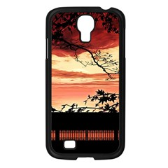 Autumn Song Autumn Spreading Its Wings All Around Samsung Galaxy S4 I9500/ I9505 Case (black)