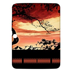 Autumn Song Autumn Spreading Its Wings All Around Samsung Galaxy Tab 3 (10 1 ) P5200 Hardshell Case