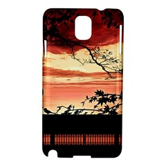 Autumn Song Autumn Spreading Its Wings All Around Samsung Galaxy Note 3 N9005 Hardshell Case