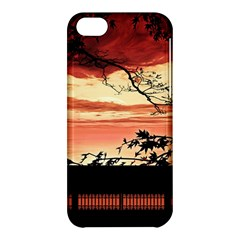 Autumn Song Autumn Spreading Its Wings All Around Apple iPhone 5C Hardshell Case
