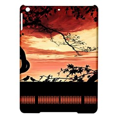 Autumn Song Autumn Spreading Its Wings All Around iPad Air Hardshell Cases