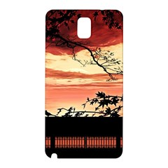 Autumn Song Autumn Spreading Its Wings All Around Samsung Galaxy Note 3 N9005 Hardshell Back Case