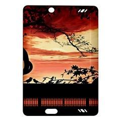 Autumn Song Autumn Spreading Its Wings All Around Amazon Kindle Fire HD (2013) Hardshell Case