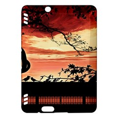 Autumn Song Autumn Spreading Its Wings All Around Kindle Fire HDX Hardshell Case