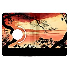 Autumn Song Autumn Spreading Its Wings All Around Kindle Fire Hdx Flip 360 Case