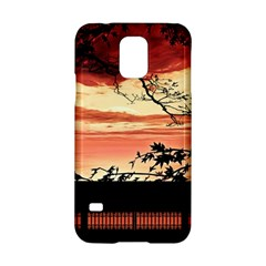 Autumn Song Autumn Spreading Its Wings All Around Samsung Galaxy S5 Hardshell Case