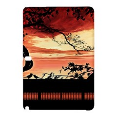Autumn Song Autumn Spreading Its Wings All Around Samsung Galaxy Tab Pro 10 1 Hardshell Case